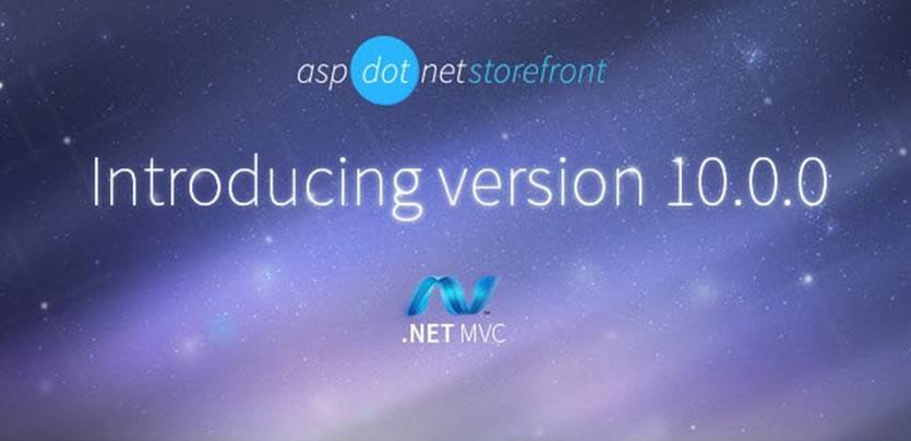 AspDotNetStorefront v10 Features