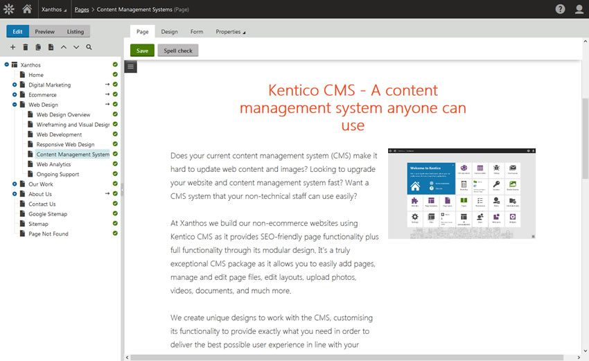 Why Choose Kentico?