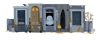 Google Doodle - Halloween Marketing