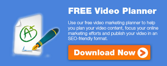 Free Video Marketing Planner