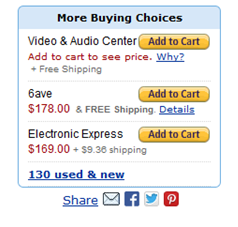 sell more online - amazon