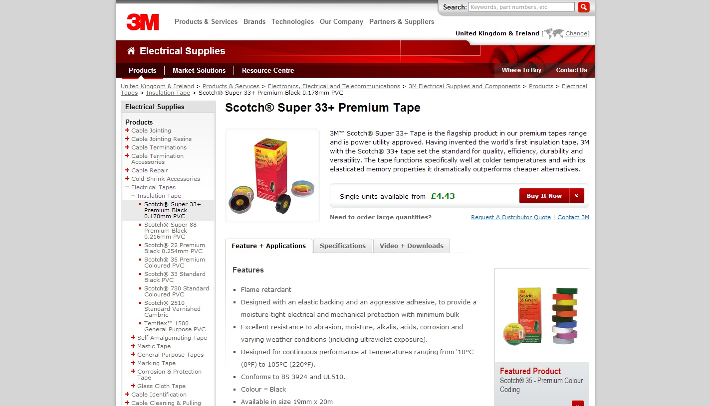 3M Scotch Tape Product