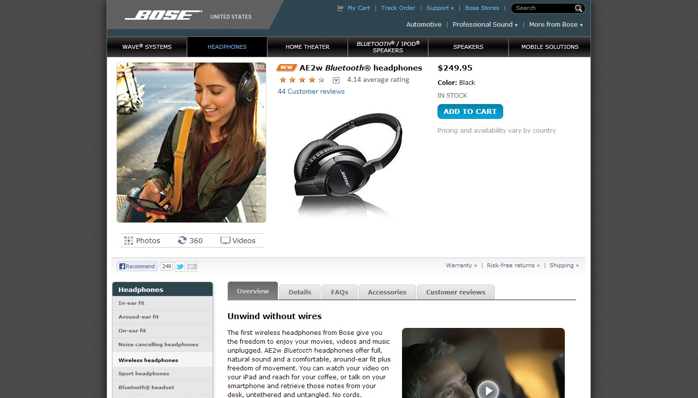 Bose Product Description