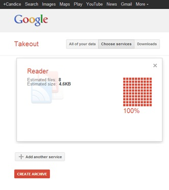 Download your Google Reader data before July 15 or lose it!