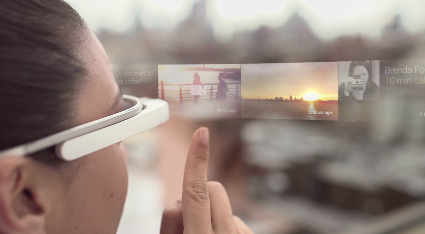 Google Glass Social Media