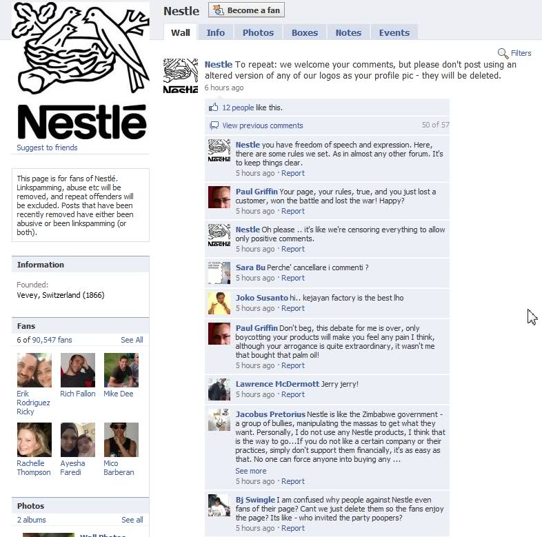 nestle social media crisis and solution Twycross zoo is taking all nestlé chocolate off sale - here's why aeros, smarties, kitkats and more removed.