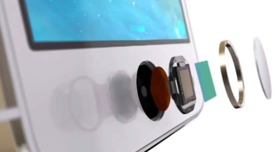touch id apple iphone ibeacon