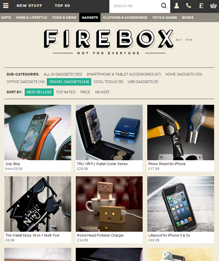 firebox responsive web design