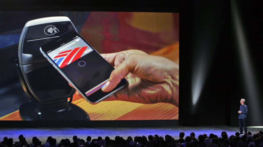 Paying with Touch ID on Apple Pay