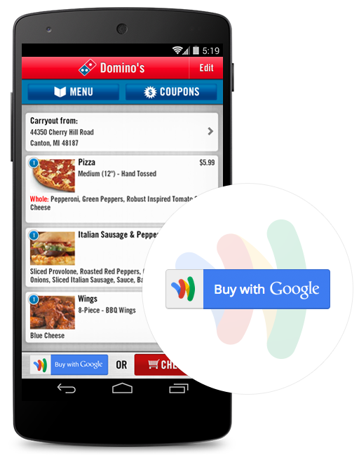Google Wallet Buy Mobile Payment