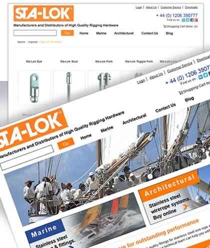 StaLok Manufacturing Website Design