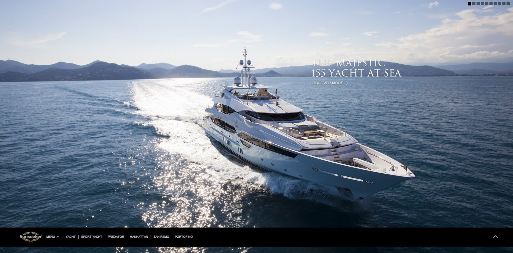 Manufacturing Website Design Sunseeker