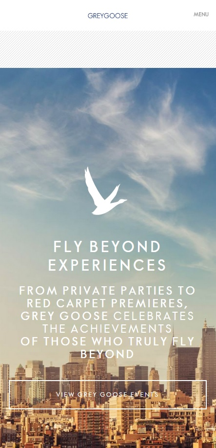 Mobile Responsive Web Design Grey Goose