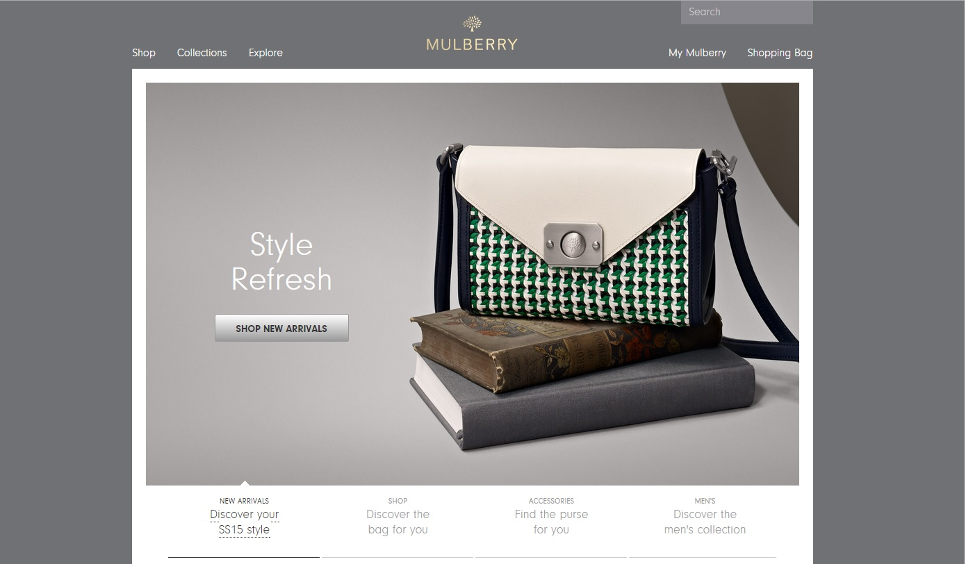 ecommerce web design mulberry
