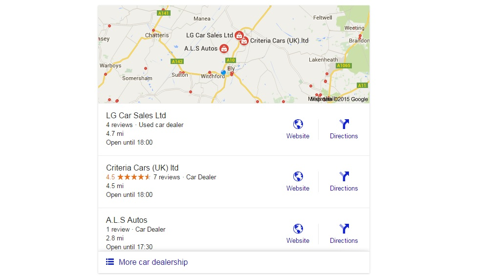 Google 3 Snack Pack Local SEO Update