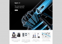 Dyson Engineering Web Design Example