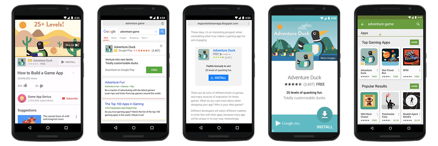 Google Universal App Campaigns
