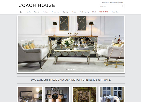 Ecommerce Website Design Coach House Xanthos Digital Marketing