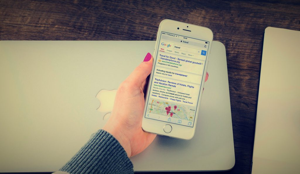 Mobile Search Results SEO Rankings
