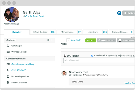 Lead Example Marketing Automation