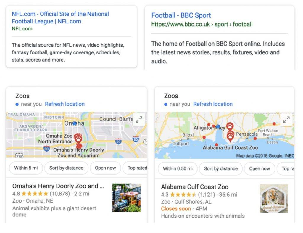 Google Shows Personalised Search Results When Logged Out
