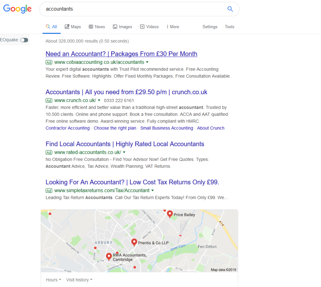 Google Ads for Accountants